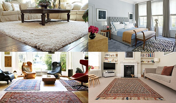Decorating Home with Rugs - Make Home Look Lively and Better
