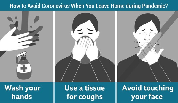 How to Avoid Coronavirus When You Leave Home during Pandemic