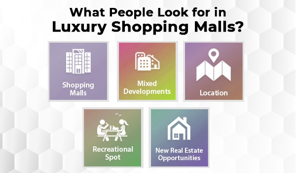 What People Look for in Luxury Shopping Malls?